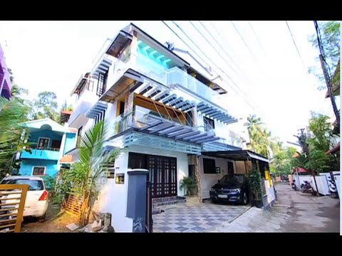 Four bedroom house in three and half cent land at Ernakulam :Dream Home 18 Oct 2015