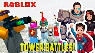 Roblox: TOWER BATTLES!