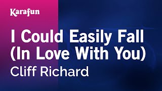 Karaoke I Could Easily Fall (In Love With You - From Aladdin) - Cliff Richard *