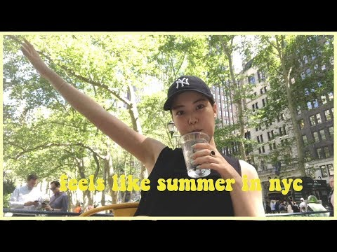 Life in NYC | Summer vibes in the city, yoga, fitness slump, try on clothing haul