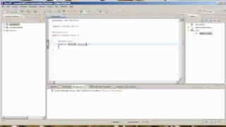 Basic Weblogic Webservice Example
