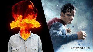 ESTO PASARÍA si SUPERMAN te da un PUÑETAZO en la CARA
