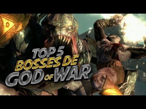 Top 5 Boss Fights de God Of War