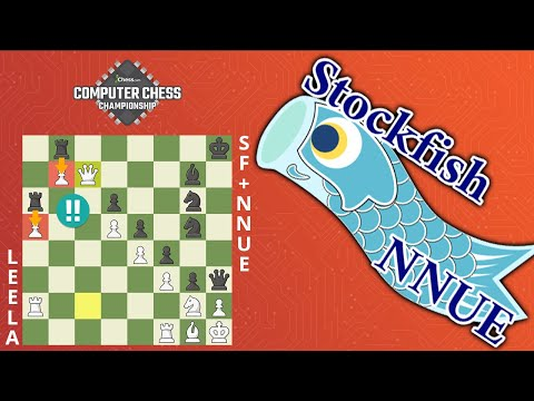 Stockfish+NNUE Wins A MASTERPIECE In The King's Indian Defense! | Computer Chess Championship