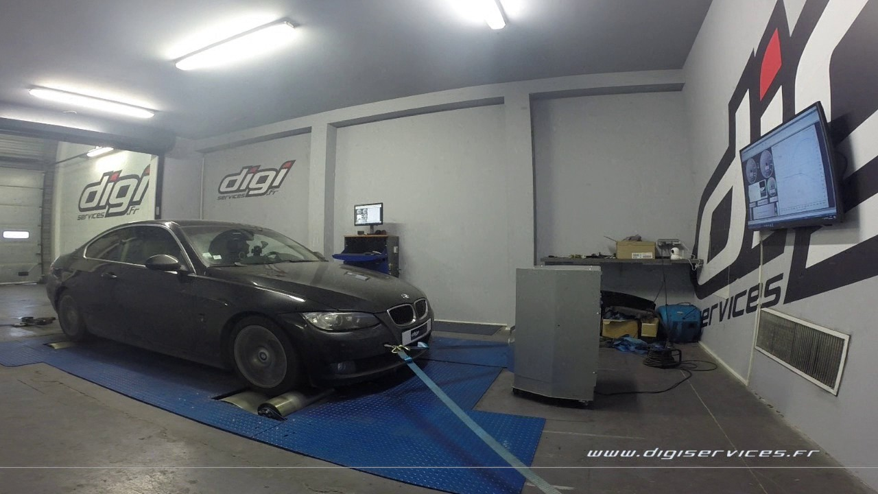 bmw 325d 197cv reprogrammation moteur 251cv digiservices paris 77 dyno youtube. Black Bedroom Furniture Sets. Home Design Ideas