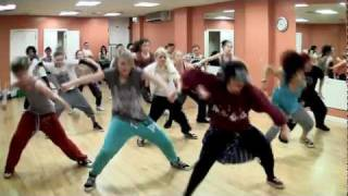 LMFAO - Sexy and I Know It (choreography by Kerrie Milne class hosted by Jane Shortall)