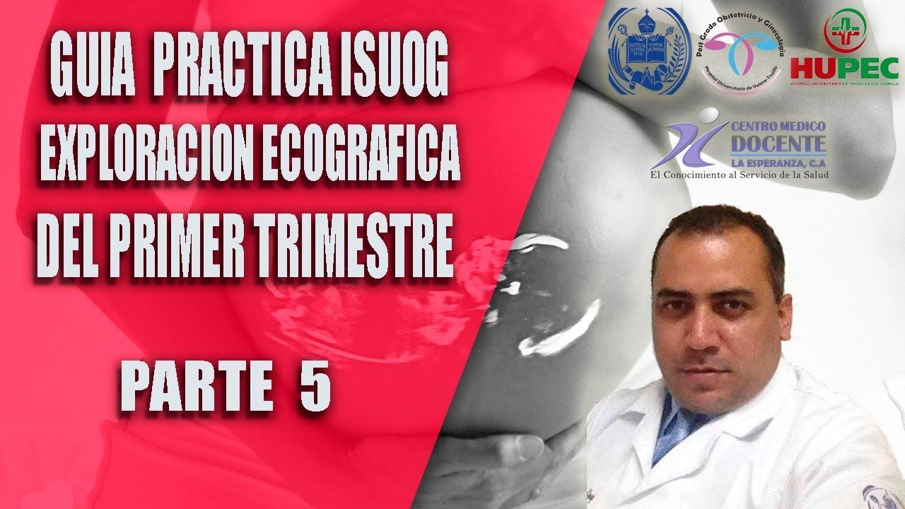 GUIA PRACTICA ISUOG] Exploración ecográfica fetal primer trimestre ...