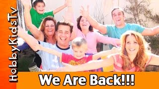 We Are Back on YouTube! Bloopers + Special Thanks by HobbyKidsTV Family