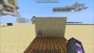 מיינקראפט 1.5 - מדריכי רדסטון : שולחן עבודה סודי [רוחב אחד]