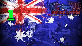 New Beginning - Power and Revolution (Geopolitical Simulator 4)Australia Part 1 2018 Add-on