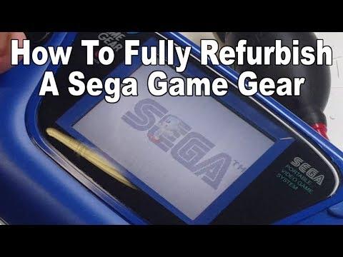 How To Fully Refurbish A Sega Game Gear