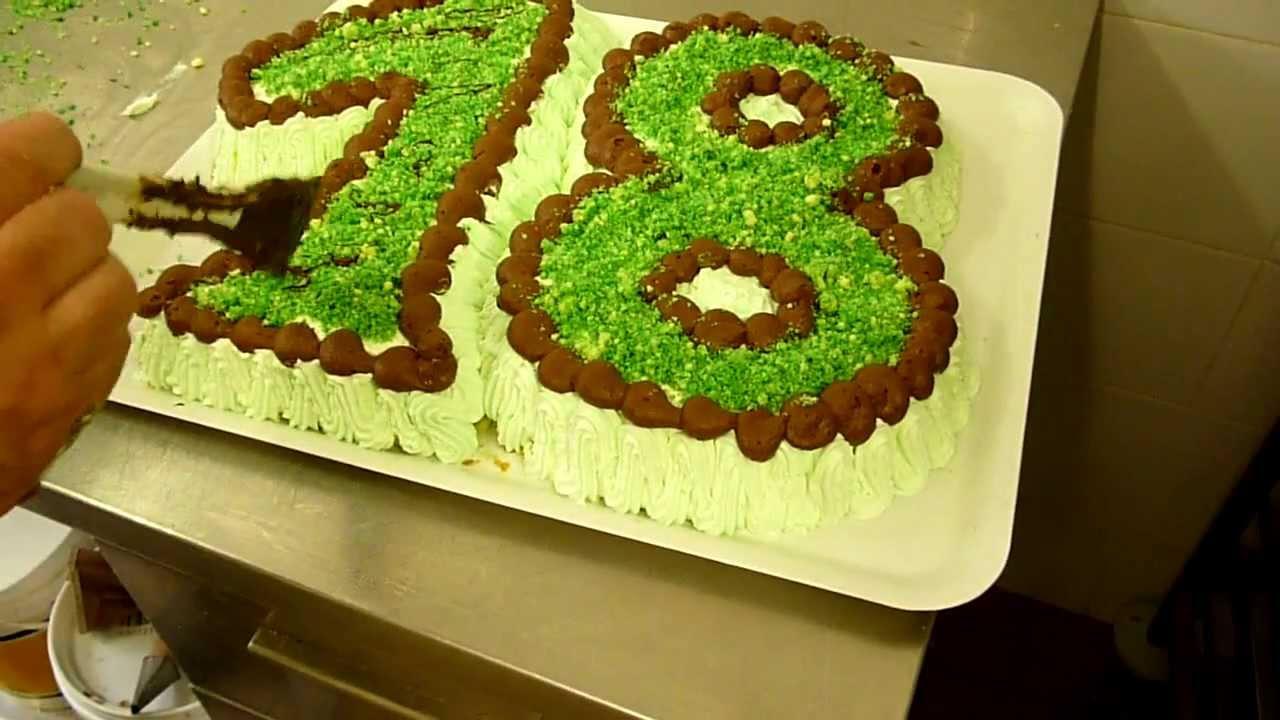 Torta a forma di numero torta per i 18 anni torta al for Decorazioni per torta 60 anni