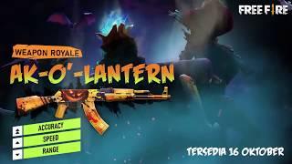 Free fire today update :- Next weapon royal free fire , next AK gun skin on free fire
