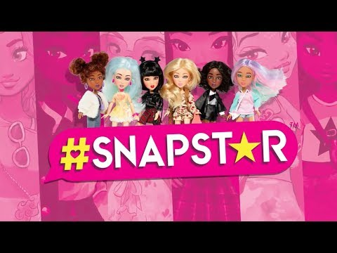 Play Stylist and Social Media Star with #SNAPSTAR! | A Toy Insider Play by Play