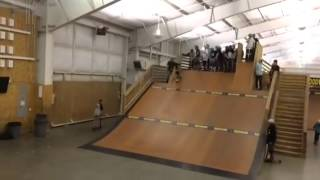 First Double backflip - Tanner Fox