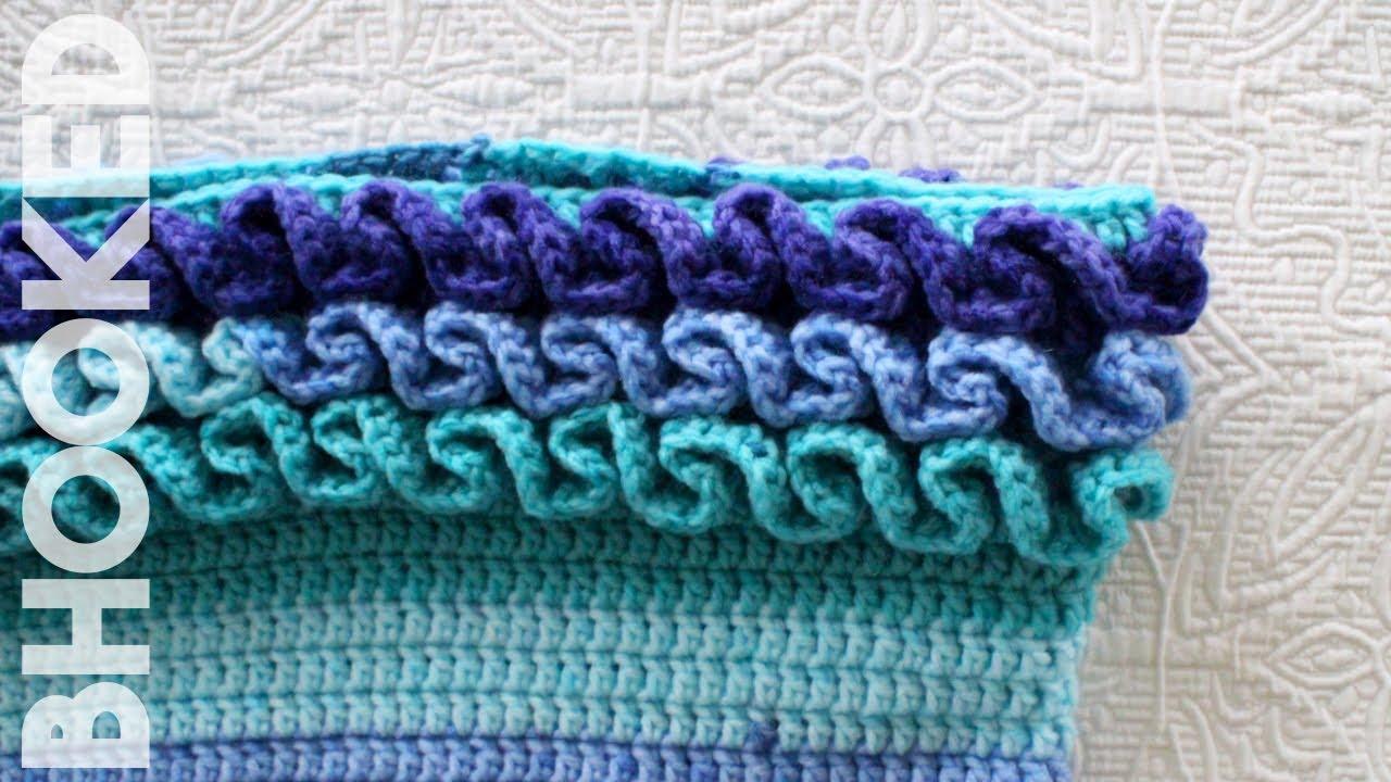 How To Crochet Ruffles Youtube