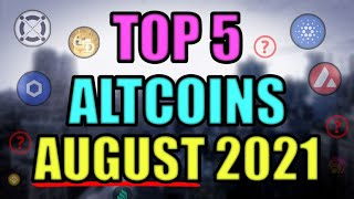 5 COINS SET TO EXPLODE IN AUGUST! EPIC SUPPLY SHOCK TO SEND CRYPTOCURRENCY SKY HIGH!
