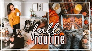 FALL COZY EVENING ROUTINE 2018 | MARRIED FALL NIGHT ROUTINE #FallFridaysWithPage | Page Danielle