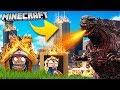 Baza Vs Godzilla - Tsunami Challenge Minecraft! | Vito Vs Bella video