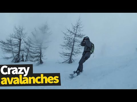 Extreme Avalanches Caught on Camera | Avalanche Compilation 2019