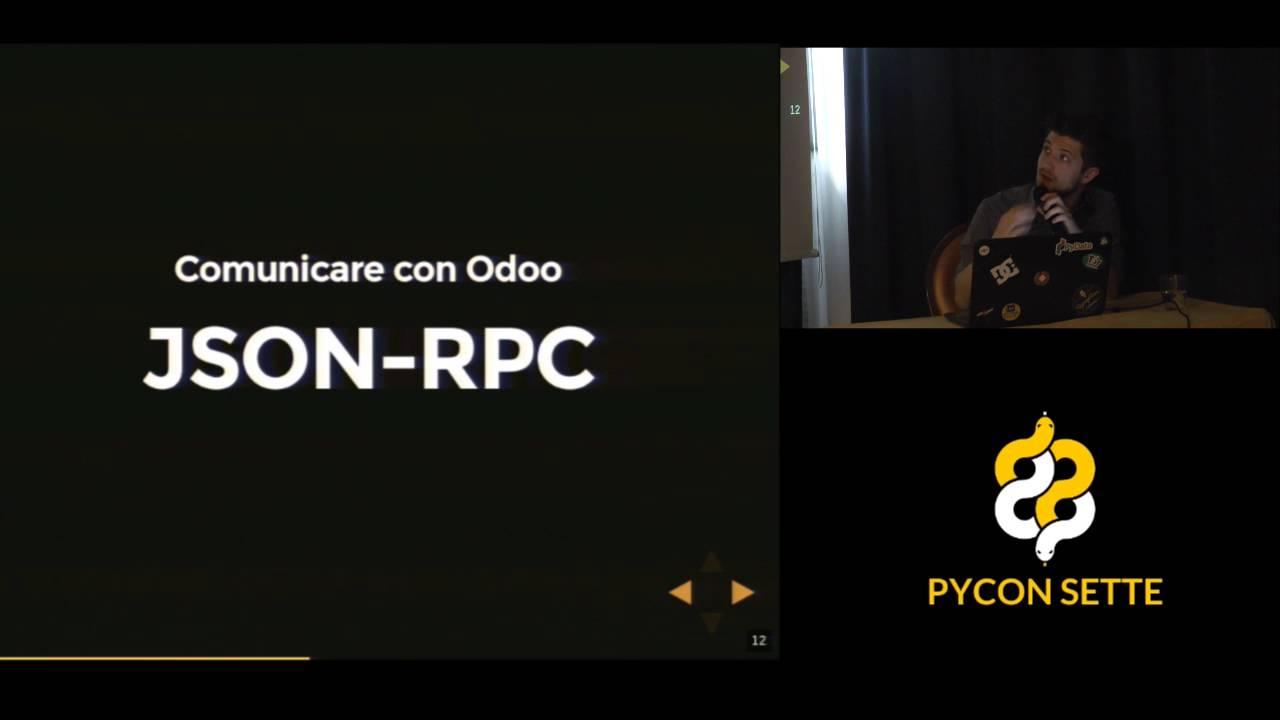 Image from Da e verso Odoo Xml Rpc, Erppeek e Python