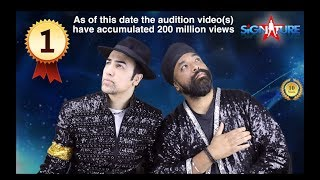 Reacting to Michael Jackson  BRITAINS GOT TALENT AUDITION (Tribute by SIGNATURE / SULEMAN MIRZA)