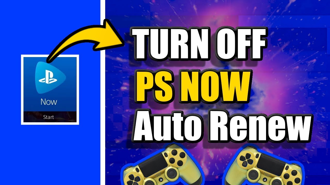 How To Cancel Ps Now Subscription On Ps4 Don T Get Charged Easy Method Youtube