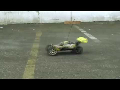 Exceed Rc 1 8th Nitro Gas Ed Cars Bashing Buggy Vs Truck Truggy You