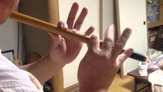 内野祭り 二番町笛演奏