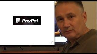 Dr Zbigniew Kękuś (PPP 183) PayPal rabuś - PayPal the robber
