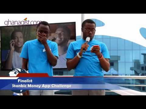 Finalists for Stanbic Money App Challenge demonstrates how their apps work | GhanaGist.com Video