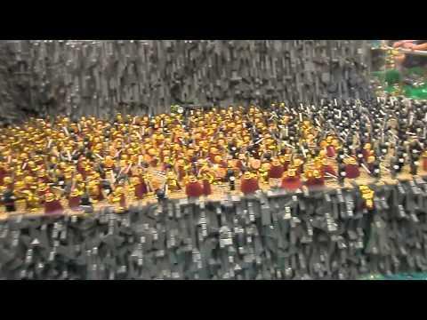 lego 300 persian attack spartan youtube