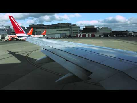 NORWEGIAN | Take off London Gatwick | 737-800 LN-DYZ | HD AUDIO