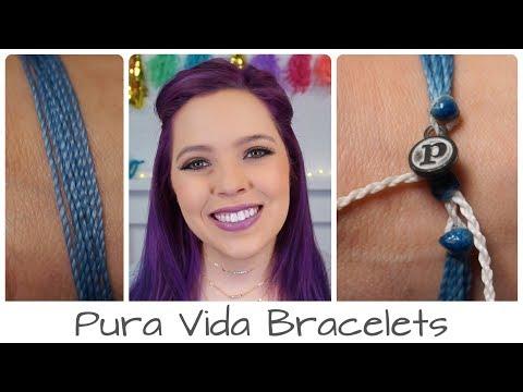 Pura Vida Bracelet | Anxiety Awareness