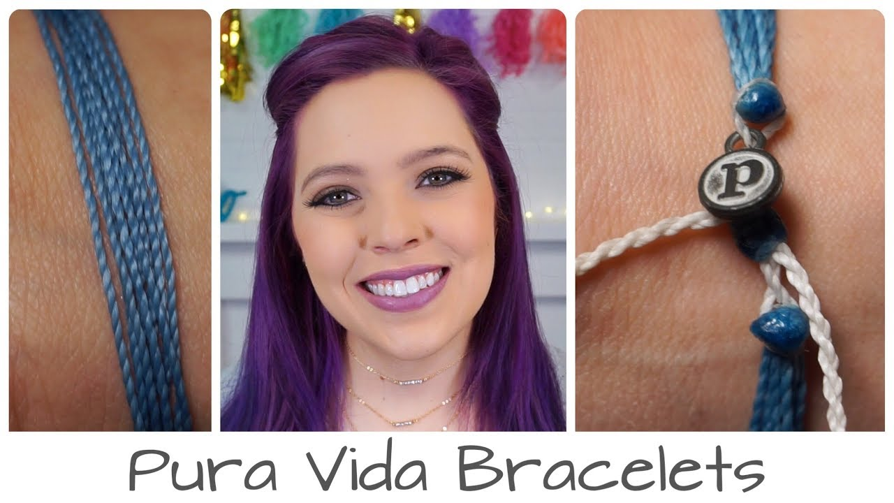 Pura Vida Bracelet Anxiety Awareness Youtube