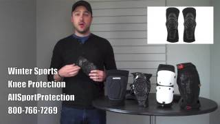 Knee Protection for Snowboarding & Skiing, Winter Sports
