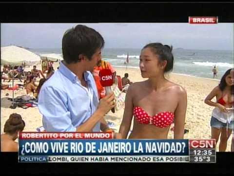 C5N - TURISMO: LA NAVIDAD EN RIO DE JANEIRO (PARTE 1)