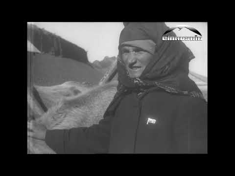 Старое видео - аул Каменомостский 1930 год (Карачаевская автономная область)