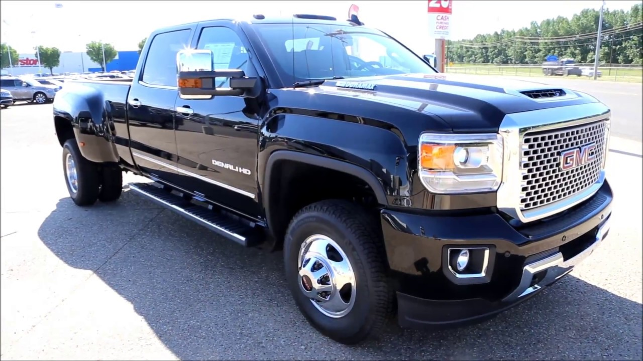 new 2017 onyx black gmc sierra denali 3500hd dually for sale in medicine hat alberta youtube. Black Bedroom Furniture Sets. Home Design Ideas