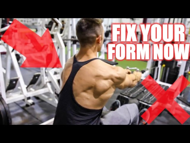 How To PROPERLY Perform the Seated Row | 3 Cable Row Variations for Muscle Gain