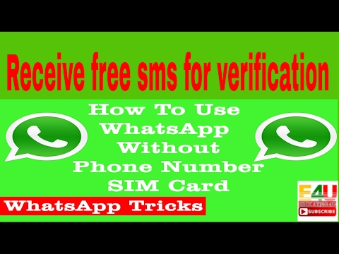 Mobile number for sms verification Free Websites - YouTube