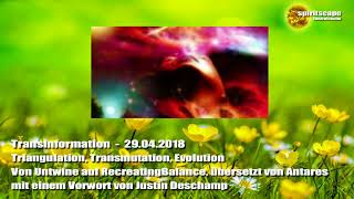 Triangulation, Transmutation, Evolution - Transinformation - 29.04.2018