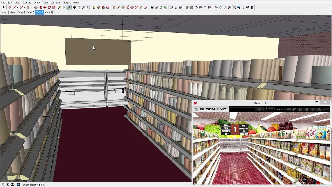 Mini Supermarket Layout Review In Real Time Youtube