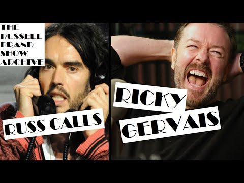 Ricky Gervais Interview   The Russell Brand Show