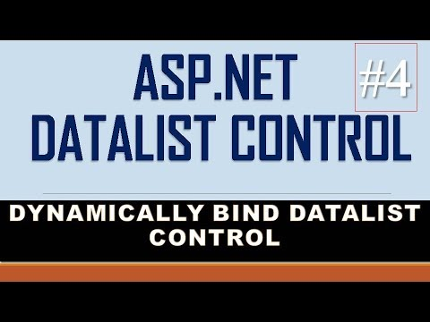 How To Dynamically Bind DataList Control In ASP.NET From Database- Part-4