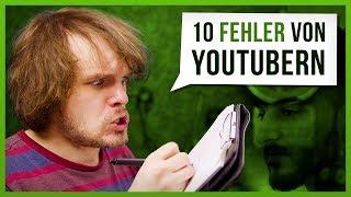 10 Fehler von YouTubern