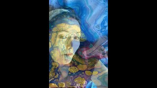 NEW! NEW USES FOR ACRYLIC POUR PAINTINGS & SELFIES