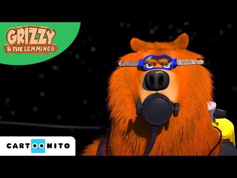 Grizzy és a lemmingek | Utazás az űrbe | Boomerang