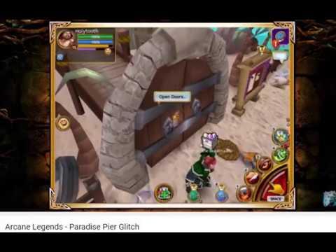 TOP RANK 5 Glitch/bug In Arcane Legends!