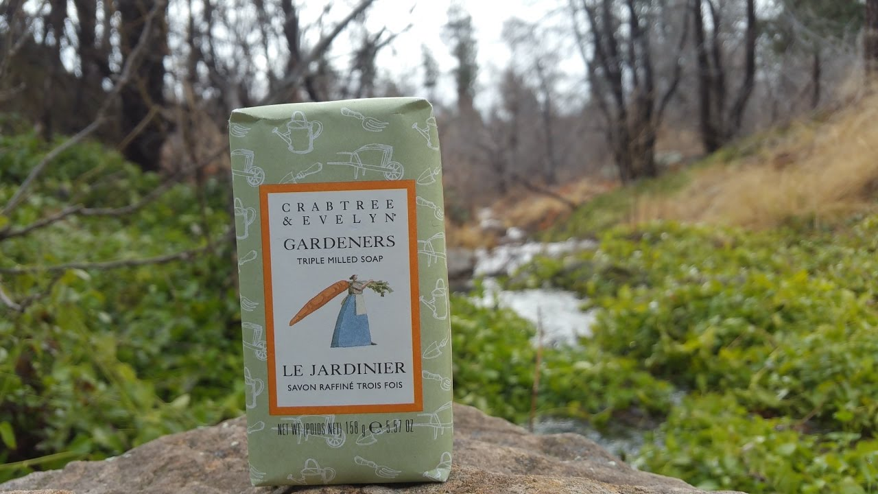Crabtree Evelyn Gardeners Soap Review Youtube